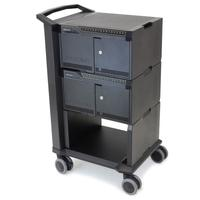 Ergotron Cart 32 Multimedia karren & stands - Zwart