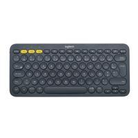 Logitech K380 Multi-Device Bluetooth Keyboard - AZERTY Clavier - Gris