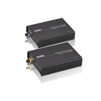 Aten HDMI optische verlenger (1080p op 600 m) AV extenders - Zwart