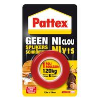 Pattex Geen Spijkers en Schroeven Tape, 120 kg - Rood
