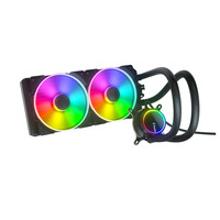 Fractal Design Celsius+ S28 Prisma Computer vloeibare koeling - Zwart, Wit
