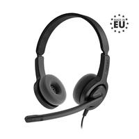 Axtel Voice PC28 duo NC Casque - Noir