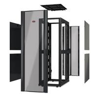 """APC NetShelter SX 42U 750mm(b) x 1070mm(d) 19"""" IT rack, behuizing zonder deuren en zijpanelen, zwart Stellingen/racks"""