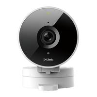 """D-Link 1/4"""", 1MP, CMOS, F2.2, H.264/MJPEG, 720p, 30 fps, 802.11b/g/n, MicroSD, Bluetooth, 140 g Caméra IP - Blanc"""