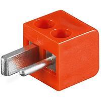 Microconnect Loudspeaker plug Prises de courant électriques - Rouge
