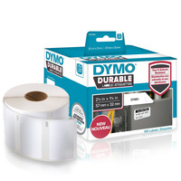 DYMO LW - LW Durable Labels - 32 x 57 mm - 1933084 Etiket - Wit