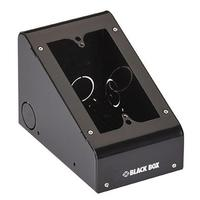 Black Box Outlet Box, Black Boitier de prise de courant - Noir