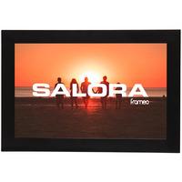 """Salora 10"""" INCH DIGITALE MET TOUCHSCREEN EN FRAMEO APP Fotolijst - Zwart"""