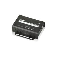 Aten HDMI HDBaseT-Lite-ontvanger (4K bij 40m), (HDBaseT Class B) AV extenders - Zwart
