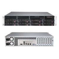 Supermicro SuperServer 6028R-TR Barebone server - Zwart