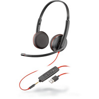 POLY Blackwire C3225 Headset - Zwart
