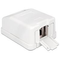 DeLOCK 86235 Elektrische doos - Wit