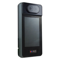 ACTi Face Recognition Reader and Controller, RFID 13.56 MHz, MIFARE, DC 12V Toegangscontrole-lezers - Zwart