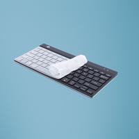 R-Go Tools R-Go Protection Hygiénique des claviers, Prêt de silicone pour la version QWERTY de R-Go Compact .....