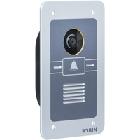 Robin SmartView SIP WA, 5 Megapixel IP camera, 640×480, IEEE 802.3af - Aluminium, Grijs