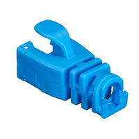 Black Box Snap-On Patch Cable Boots Kabelbeschermer - Blauw