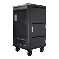 V7 Chariot de charge pour 30 appareils - Sécurisez, stockez et rechargez vos ordinateurs portables, Chromebooks et .....