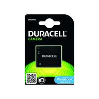 Duracell Digital Camera Battery 3.7V 700mAh replaces Panasonic DMW-BCK7E Battery - Noir