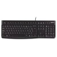 Logitech Keyboard K120 Comfortabel en stil typen - AZERTY Toetsenbord - Zwart