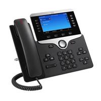 Cisco 8841 Téléphone IP - Noir, Argent