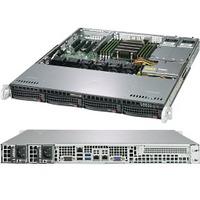 Supermicro A+ Server 1013S-MTR Barebone server - Zwart,Grijs