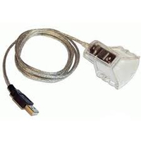 Origin Storage USB Smart Card Reader, USB 1.5m Smart card lezer - Doorschijnend