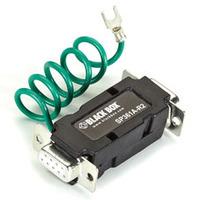 Black Box Protection pour RS232 Protecteur tension - Noir
