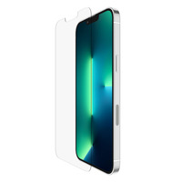 """Belkin SCREENFORCE TemperedGlass Antimicrobial-Treated Screen Protector for iPhone 13 Pro Max, 6.7"""", 9H, 0.33 mm ....."""
