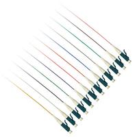 ACT LC 50/125 OM4 fiber pigtail set of 12 pieces Câble de fibre optique