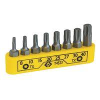C.K Tools Screwdriver bit clip set - 8 Piece TX Handschroevendraaier