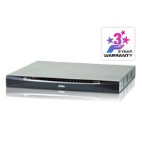 Aten 40 ports Multi-Interface Cat 5 sur IP accès de partage 1 local/4 distants Commutateur KVM - Noir,Gris