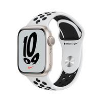 Apple Watch Nike Series 7 (2021) GPS, 41mm Starlight Smartwatch