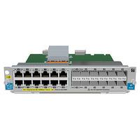 Hewlett Packard Enterprise 12-port Gig-T PoE+ / 12-port SFP v2 Netwerkswitch module