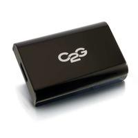 C2G USB 3.0 to DisplayPort Audio/Video Adapter - External Video Card - External Video Adapter - Black - Noir