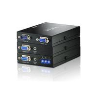 ATEN A/V over CAT5 Extender Loc+Deskew Remote AV extenders - Zwart