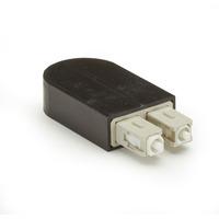Black Box Bouclage fibre optique Adaptateurs de fibres optiques - Noir,Blanc