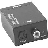 Microconnect MC-DAC Convertisseur audio - Noir