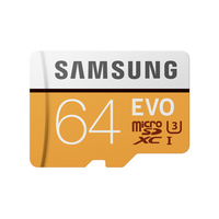 Samsung MB-MP64G Flashgeheugen - Oranje, Wit