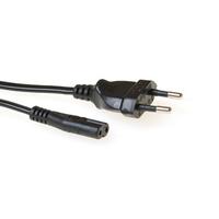 ACT 230V connection cable Euro male - C7 female 1.5 m Cordon d'alimentation - Noir