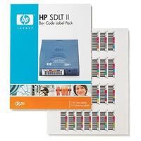 Hewlett Packard Enterprise HP SDLT II Bar Code Labels étiquette de code à barres