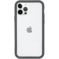 RhinoShield CrashGuard NX Bumper iPhone 12 (Pro) - Graphite - Grijs / Grey