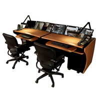 Middle Atlantic Products Discontinued: 64' LCD Monitoring Desk, PS Bureau