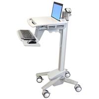 Ergotron StyleView EMR Laptop Cart, SV40 Multimedia karren & stands - Aluminium,Grijs,Wit