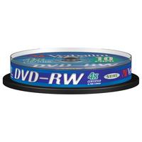 Verbatim DVD-RW Matt Silver 4x (her)schrijfbare DVD