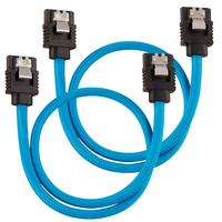 Corsair CC-8900251 ATA kabel - Zwart, Blauw