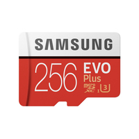 Samsung MB-MC256H Flashgeheugen - Rood,Zilver,Wit