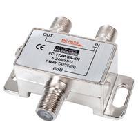 König Dérivateur 1 voie 6 dB pour satellite Répartiteur de câbles