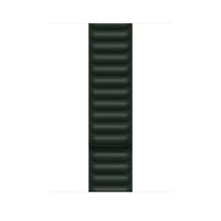 Apple Leather Link-bandje - Sequoia-groen (45 mm) - M/L