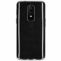 Accezz Clear Backcover OnePlus 6 - Transparant / Transparent