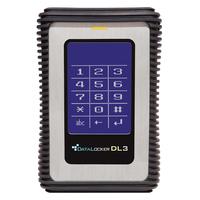 DataLocker 3 500GB Externe harde schijf - Zwart,Zilver